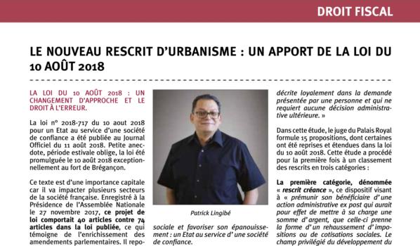 le-nouveau-rescrit-durbanisme-apport-loi-10-aout-2018